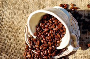 Aufbewahrungsort Kaffee
